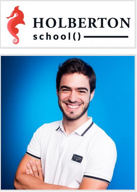 Sylvain et Holberton School, une école pour former les ingénieurs de demain